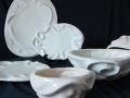 ceramic ware, (molds)